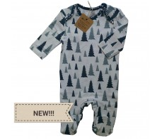 long sleeve romper ( blue spruce )