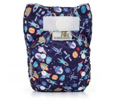 Pocket Diaper Bamboo Duo, UNIVERSE