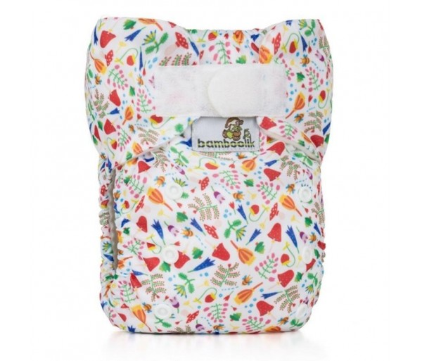 Pocket Diaper Stay Dry Duo,MEADOW