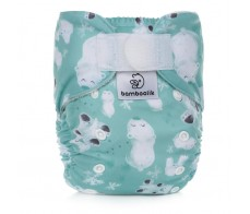Pocket Diaper Stay Dry Duo, Polar Bears